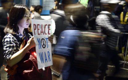 Страната на залязващия пацифизъм