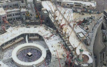 Кран погреба над 100 души в сърцето на исляма