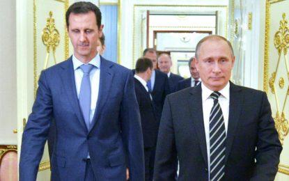 Белият дом осъди визитата на Асад в Москва