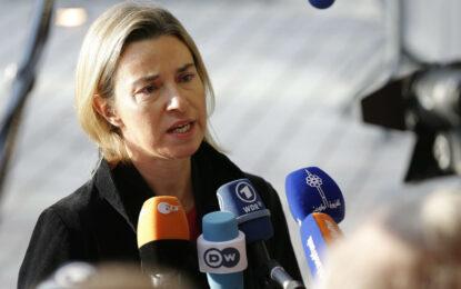 Могерини призова Русия да координира действията си в Сирия