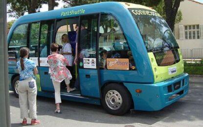 Автобус без шофьор тръгна в гръцкия град Трикала