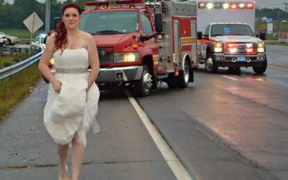 Парамедик хукна към катастрофа в деня на сватбата си