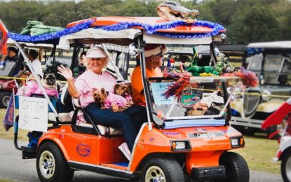 Секс, алкохол и весели старчета в колички за голф