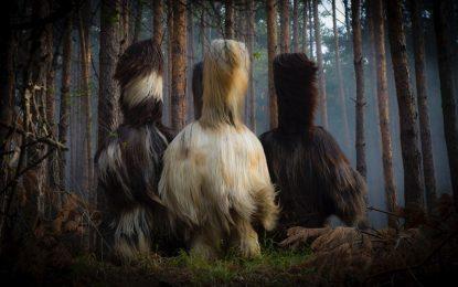Пернишки кукери гонят девойки в клип на Rammstein
