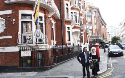 Лондон се отказа да дебне Асанж