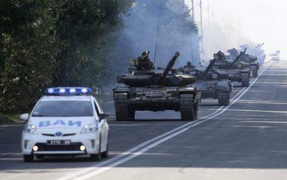 Украйна изтегля танковете от Донбас