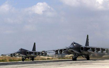Русия помага по въздуха Асад да си върне Западна Сирия