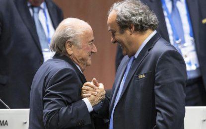 FIFA отстрани разследваните Блатер и Платини