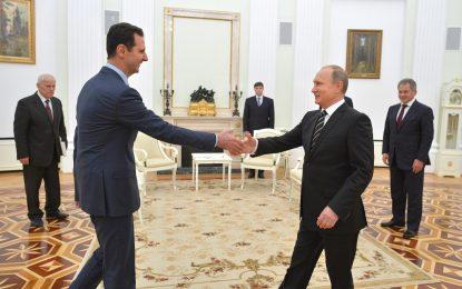 Асад отскочи до Москва и вдигна чело