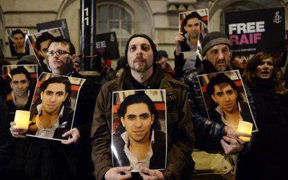 """Приз """"Сахаров"""" за саудитския блогър, осъден на 1000 камшика"""