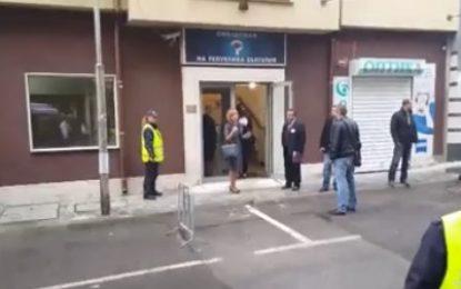 """С """"Кой кадрува"""" демонстранти посрещнаха """"ОмбудсМая"""" (видео)"""