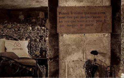 Нощ в парижките катакомби предлага Airbnb за Вси Светии