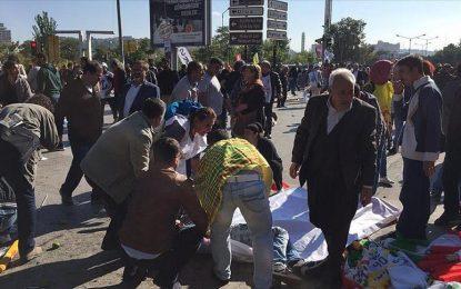 Атентат уби 30 души в Анкара (обновена)