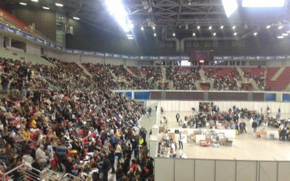 """Софийската ОИК наредила масовия арест в """"Арена Армеец"""""""