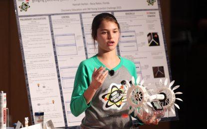 Ученичка създаде миницентрала за ток от приливите