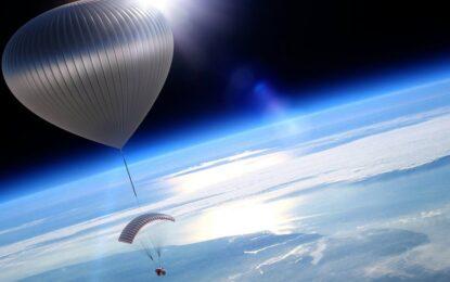 Пътуваме до Космоса с балон през 2017