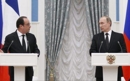 Франция и Русия занапред удрят само по терористи