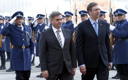 Правителствата на Босна и Сърбия на първа приятелска среща