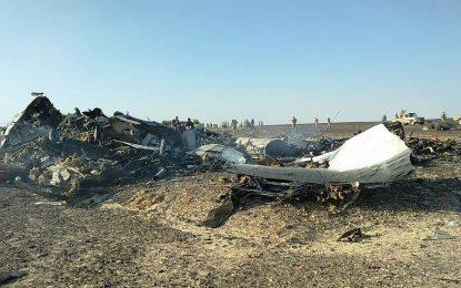 Разбилият се руски самолет може да не е бил годен за летене