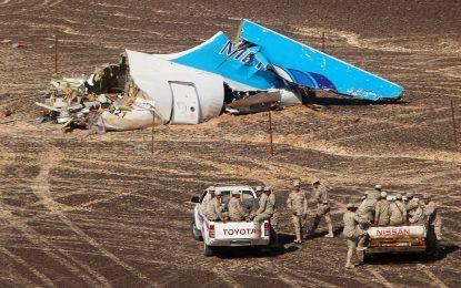 Странни отломки открити на мястото на катастрофата на руския лайнер