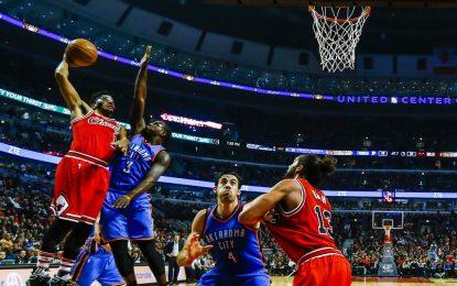 """Избрано от НБА: Роуз спаси """"Булс"""" от провал срещу """"Тъндър"""""""