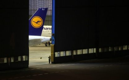 Стачката приземи Lufthansa напълно