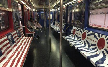 Метрото в Ню Йорк пълно с нацистки символи