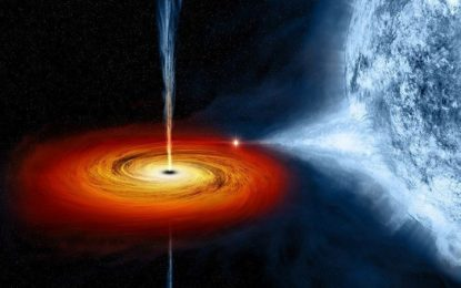 След звездна вечеря черната дупка се оригва