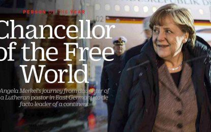 """Меркел срази """"халифа"""" в класацията на TIME за личност на 2015 г."""