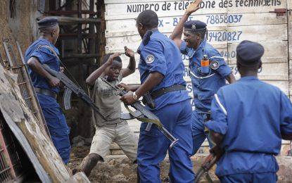 Най-малко 34 протестиращи са убити от полицията в Бурунди