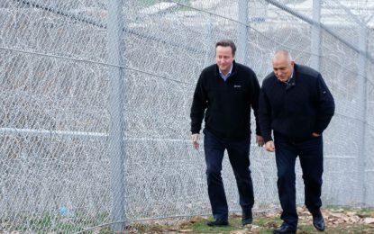 Oxfam критикува  Камерън заради хвалбите му за българската ограда