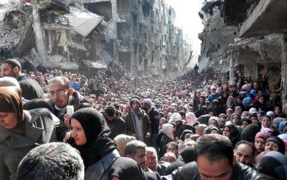 Изтеглянето на джихадистите от Дамаск се провали