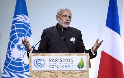 Индия създава алианс на слънчевата енергия с още 120 държави