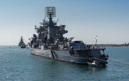 Руски боен кораб предупреди турски рибари със стрелба