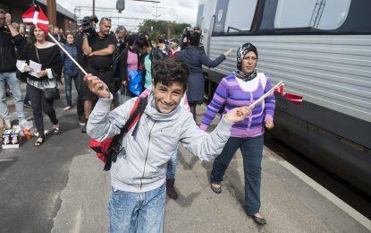 Дания иска да конфискува ценности от бежанците