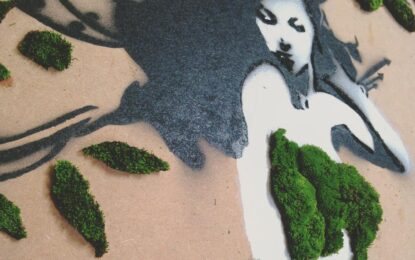 Дишащи графити станаха хит в Instagram