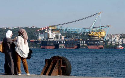 Турция внася 25% по-малко руски газ през 2016