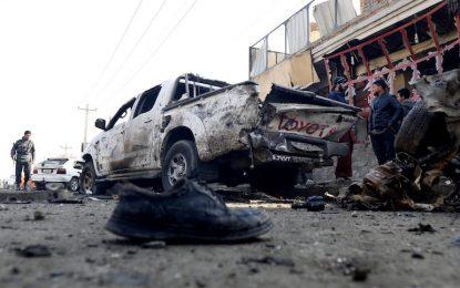 Кола-бомба се взриви до летището в Кабул
