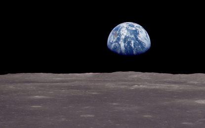 На Луната е имало вода, но Земята я е изсмукала
