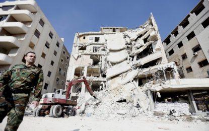 """Израел срина сграда в Дамаск, убивайки членoве на """"Хизбула"""""""