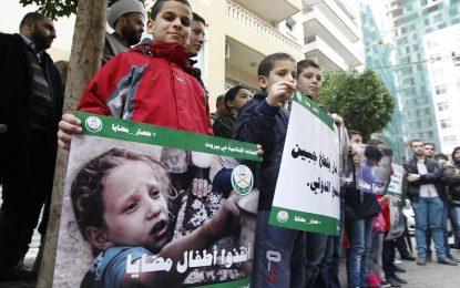 Червеният кръст спасява три града в Сирия от глада