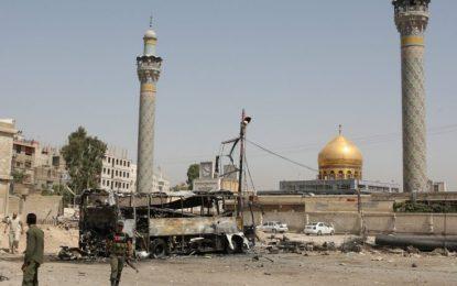 """""""Ислямска държава"""" удари столицата на Сирия"""