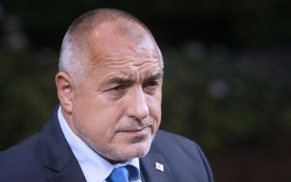 Бойко Борисов угрижен за правовия ред в Турция