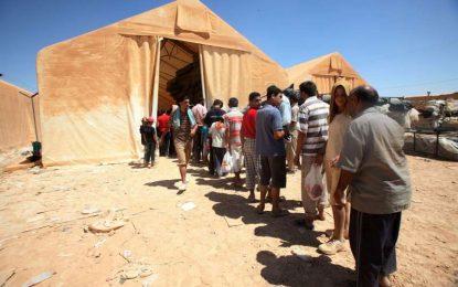 Над 12 000 бежанци от Сирия блокирани на границата с Йордания