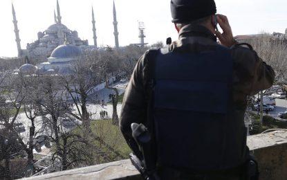 Взрив в Истанбул