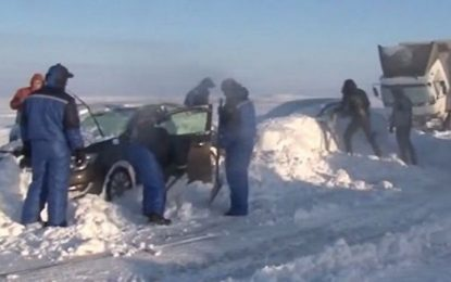 Руснак с видеотирада до Путин заради жертви на снежна виелица