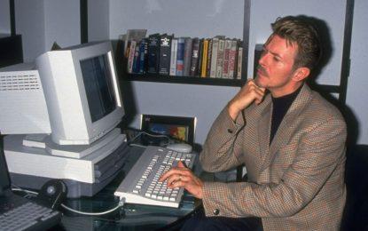 Дейвид Боуи видя бъдещето на музиката още в зората на интернет
