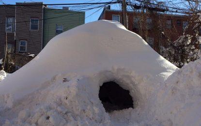 $200 за нощ под снега на Ню Йорк