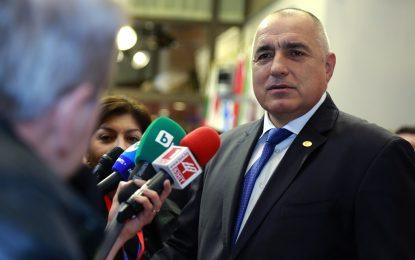 Борисов си изми ръцете за забраните за къмпингуване