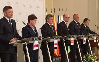 Вишеградската четворка поиска План Б за бежанците